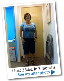 Lost 38lbs.